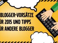 Meine Blogger Vorsätze für 2015 – Zielbar Blogparade