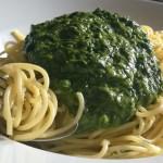 Parmesan Spaghetti mit Spinatsauce – schnell, einfach, günstig