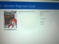 Der Vampire Beginners Guide bringt endlich eine weibliche Heldin hervor