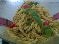 Letzte Gedanken an den Sommer mit Nudelsalat italia