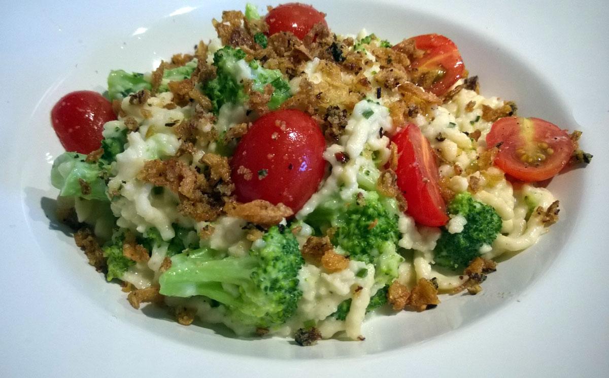 Gemüse-Spätzle