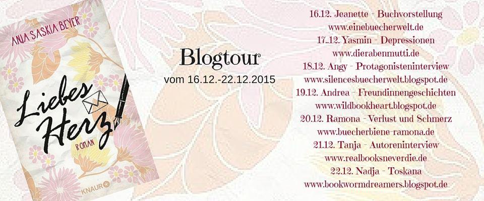 Teilnehmer Liebes Herz Blogtour