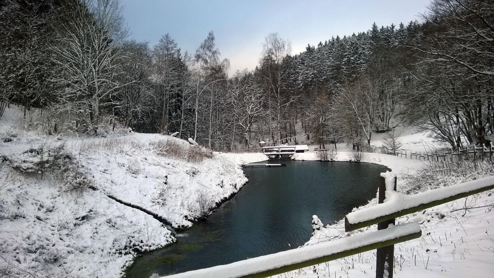 Schneelandschaft in Ottlar