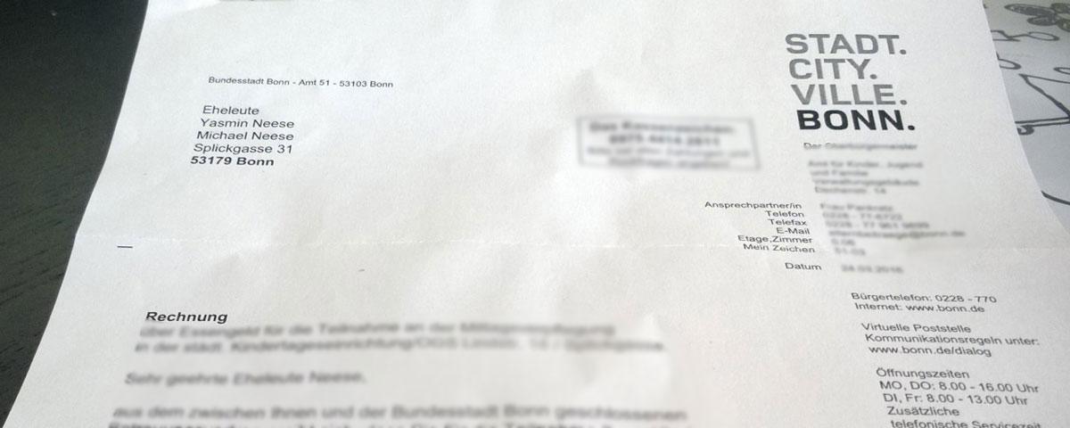 Offener Brief An Den Bürgermeister Der Stadt Bonn
