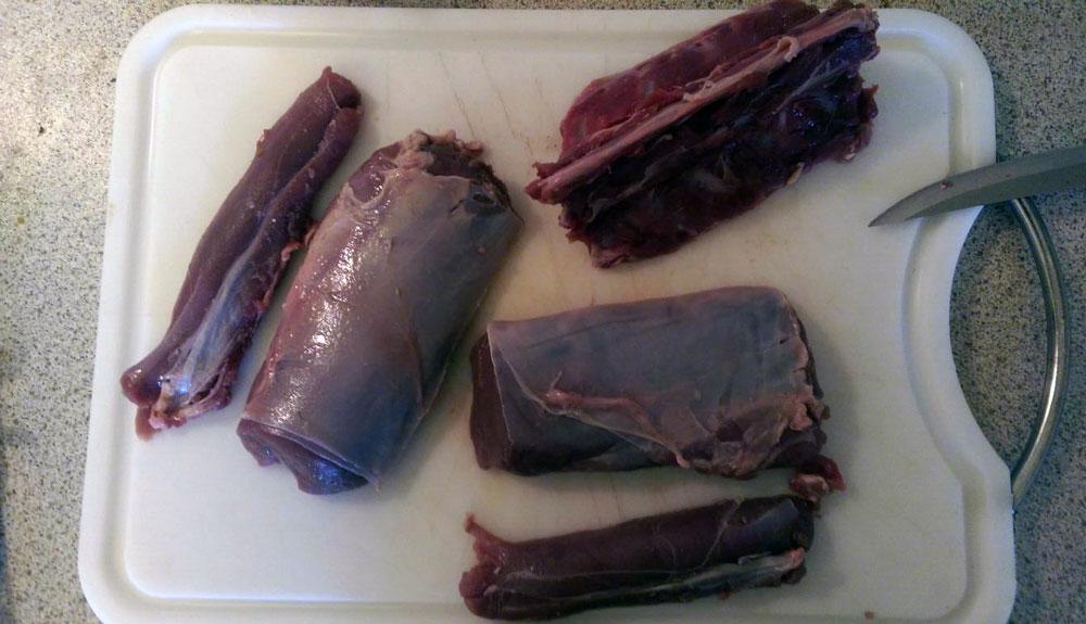 Frisches-Rehfleisch