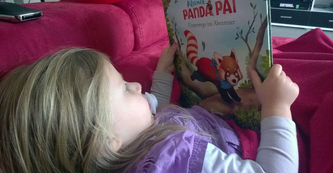 Panda Pai hat Claire sofort überzeugt