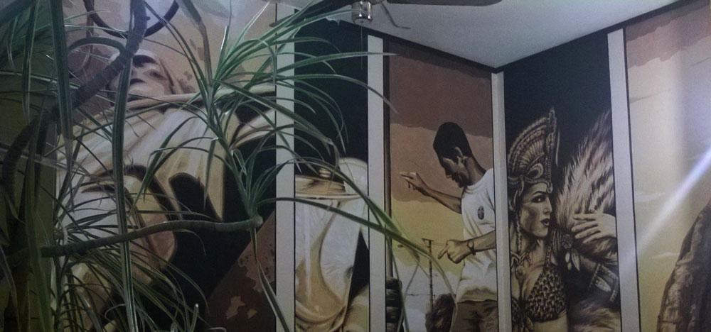 Wandmalerei im Limao
