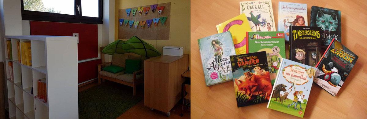 Leseecke der Grundschule
