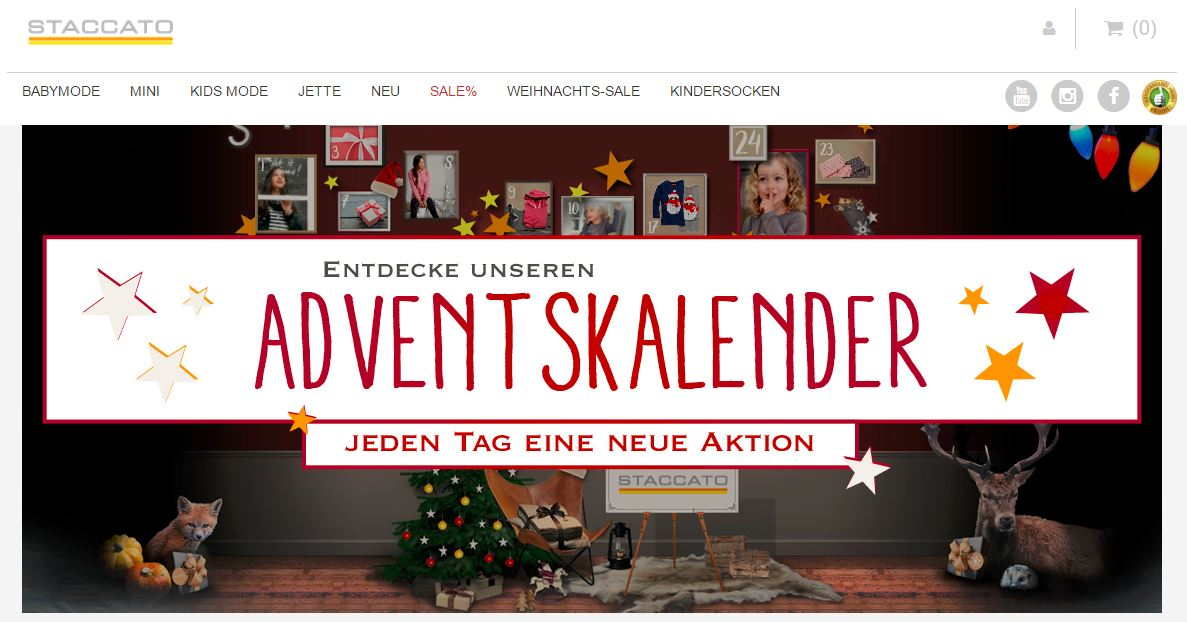 Staccato Adventskalender