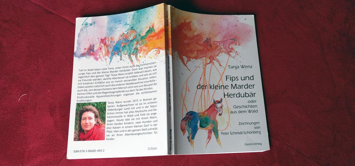 Wenz, Tanja: Fips und der kleine Marder Herdubär. Zeichnungen von Peter Schmidt-Schönberg