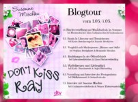 "Blogtour ""Don't kiss Ray""- Vorstellung der Charaktere"