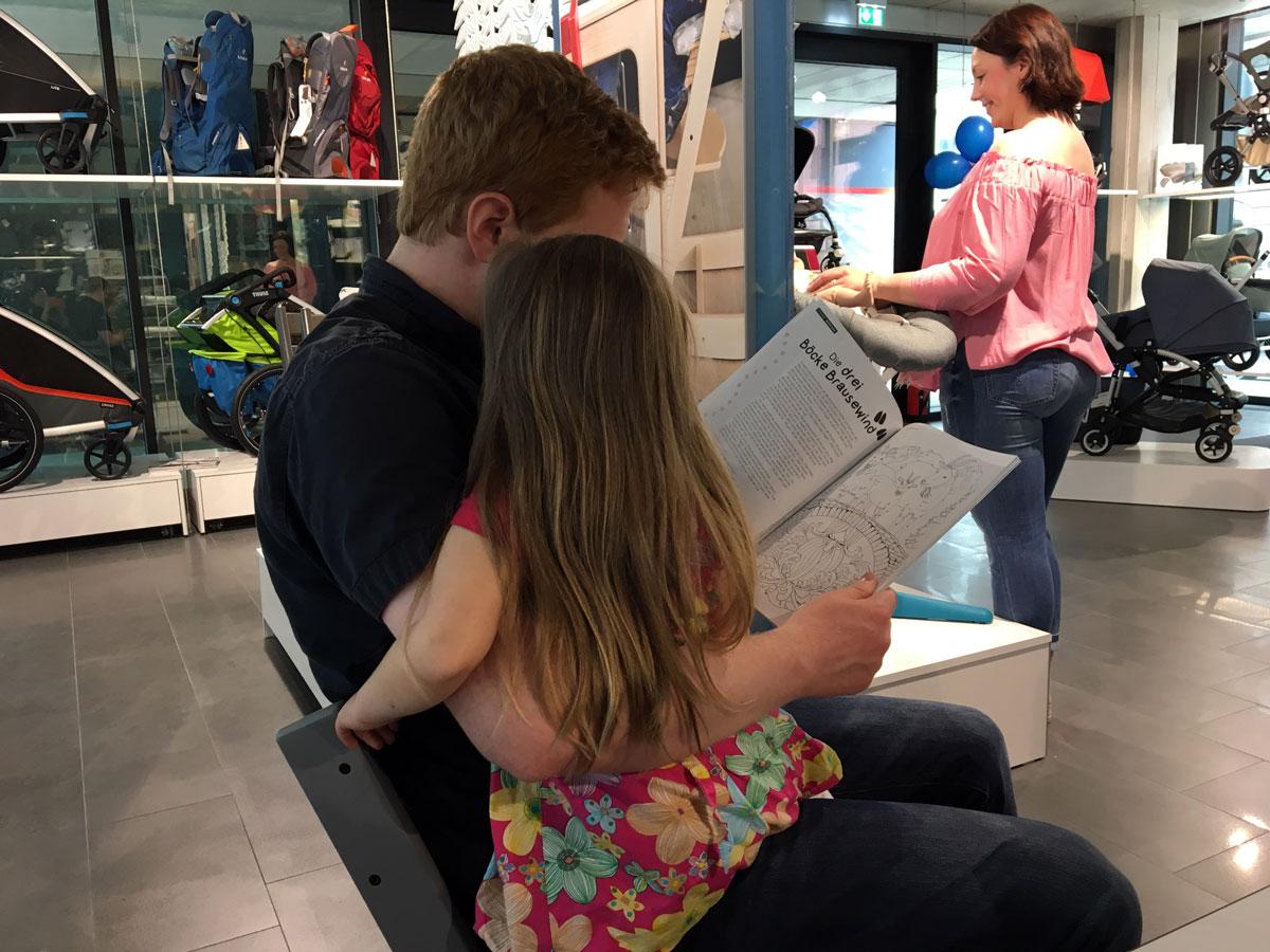 Im Familienbande Shop sind Kinder erwünscht