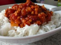 Vegane Chili sin Carne (Chili con Carne ohne Fleisch)