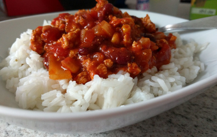 Vegane Chili sin Carne
