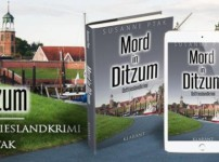 """Buchvorstellung """"Mord in Ditzum"""" von Susanne Ptak"""