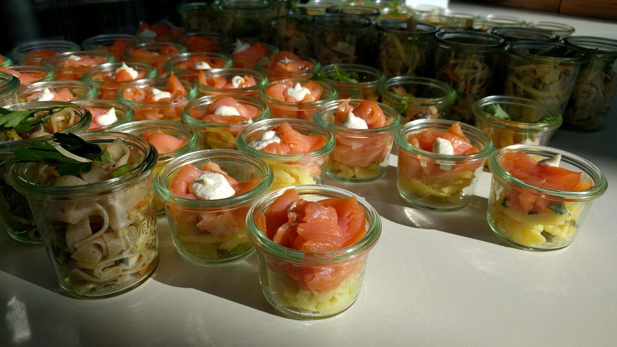 Food auf der Familycon in Mannheim